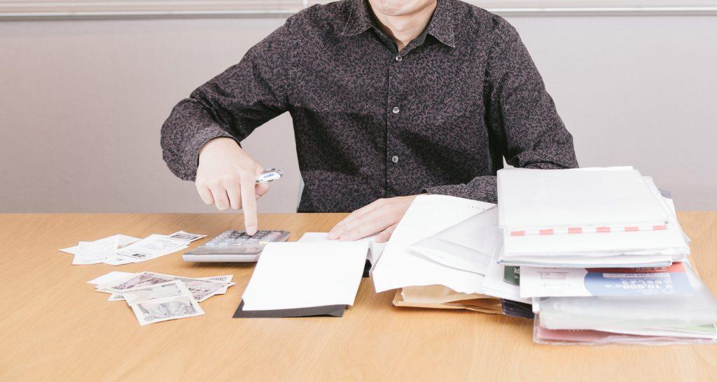 会社設立前の請求書や領収書!