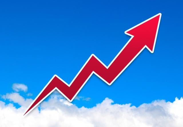 アメリカの株価22,000ドル突破